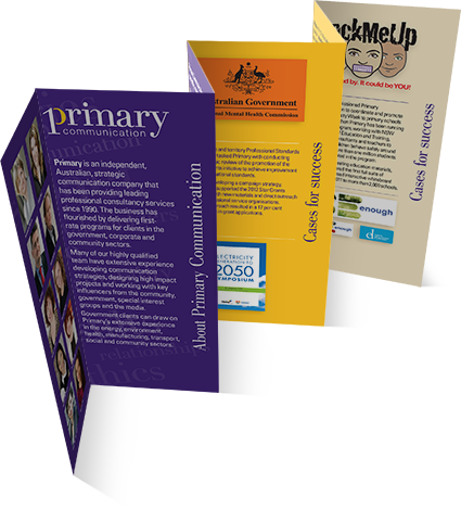 Primary Communication flyer