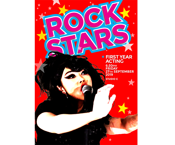 WAAPA Rockstars 2019 poster