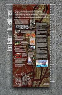 """The Settlement"" history panel"