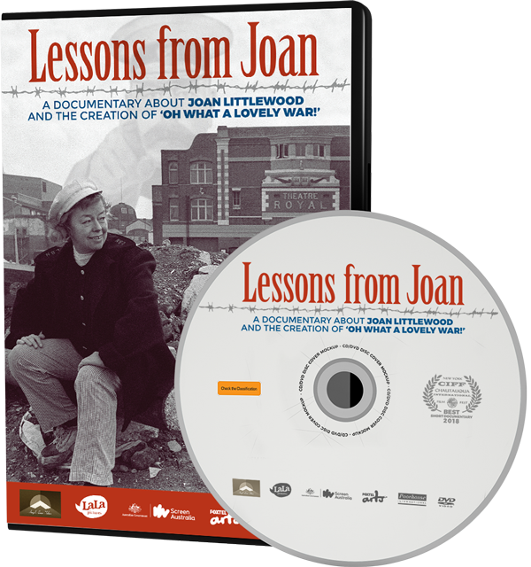 Lessons from Joan DVD slick