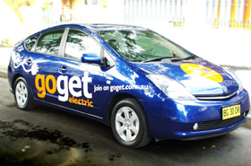 Goget electric vehicle