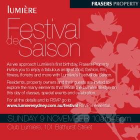 Lumiére Festival de Saison